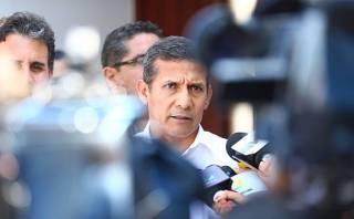 Humala: No aceptaremos que Chile pase espionaje por agua tibia