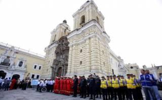 Semana Santa: 25 mil policías resguardarán Lima por festividad
