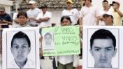 México: Padres de estudiantes de Ayotzinapa piden ayuda a narco