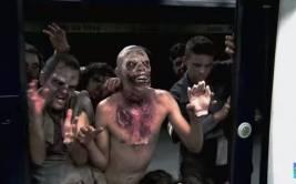 YouTube: zombies en un metro desatan pánico en los pasajeros