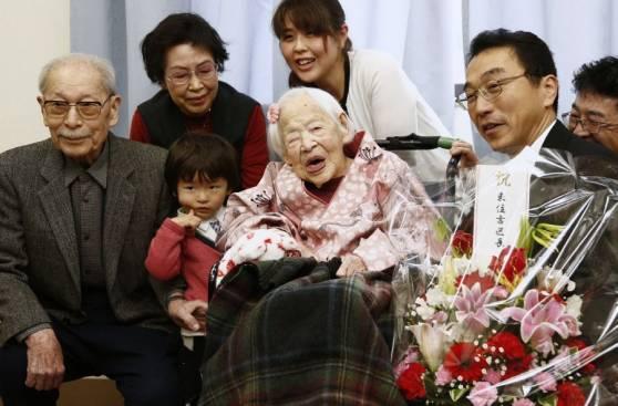 Japón: Falleció la mujer más anciana del mundo