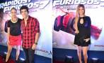Sheyla Rojas y ex de Patricio se cruzaron en avant premiere