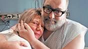 Emotivo encuentro de Jorge Lanata y mujer que le donó un riñón
