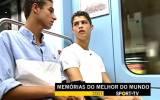 Así era la vida de Cristiano Ronaldo cuando solo tenía 16 años