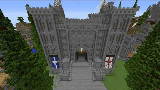Minecraft es un universo virtual de bloques.
