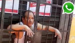 WhatsApp: hombre quedó atrapado en local clausurado por Lima