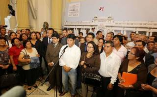 """Gana Perú tras censura a Ana Jara: """"El país no se va a detener"""""""