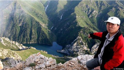 Li Weidong vio por primera vez este roedor en las montañas del oeste de China.