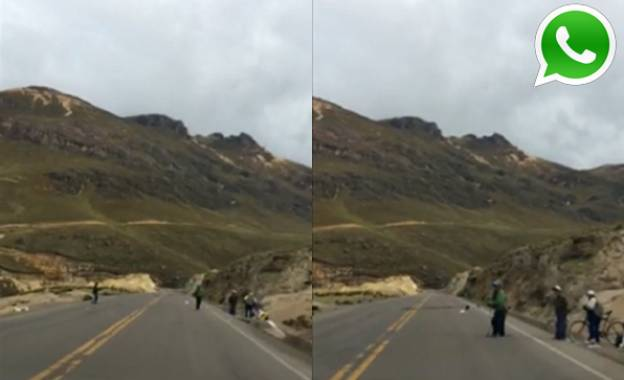WhatsApp: niños en Ayacucho arriesgan vidas para pedir limosnas