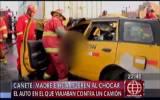 Cañete: madre e hijo mueren al chocar en Panamericana Sur