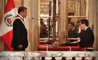 Ollanta Humala presentó a su nuevo Gabinete Ministerial