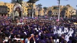 Semana Santa: desvíos por procesión del Señor de los Milagros