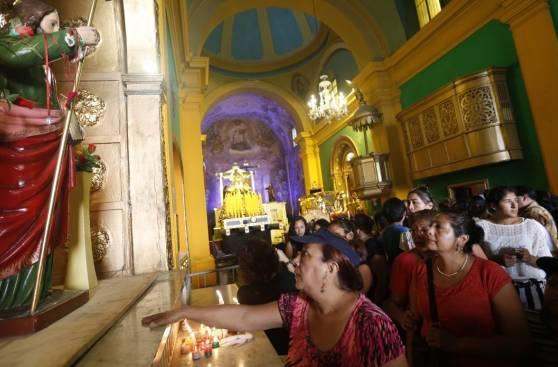 Semana Santa: imágenes de cómo se vivió el Jueves Santo en Lima