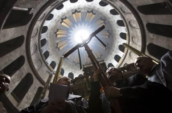 Cristianos de todo el mundo celebran Semana Santa en Jerusalén