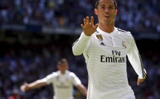 Real Madrid aplastó 9-1 a Granada con cinco goles de Cristiano