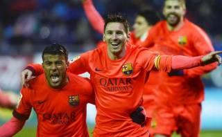 Barcelona derrotó 1-0 al Celta con gol de Mathieu por Liga BBVA