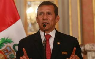 """Ollanta Humala: """"El Congreso será responsable de lo que haga"""""""
