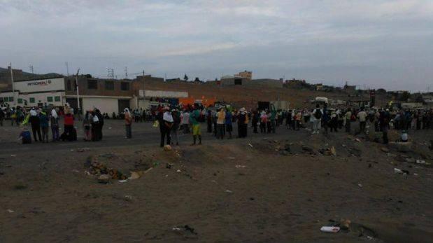 Opositores a Tía María se enfrentaron a la Policía en Mollendo