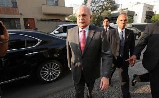 Cateriano se reunirá esta tarde con PPK en Palacio de Gobierno