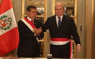 """Oposición critica a Humala por """"petardear"""" diálogo de Cateriano"""