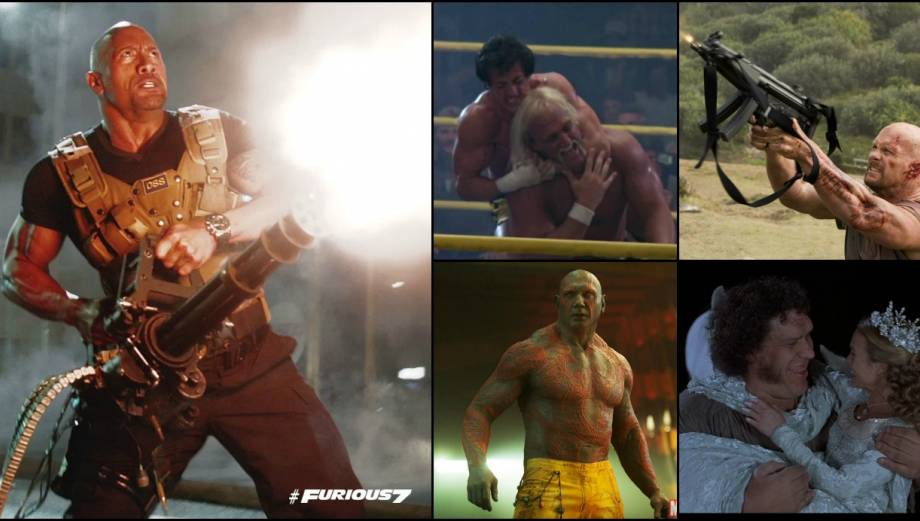 WWE: The Rock y otros peleadores que incursionaron en el cine