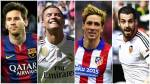 Liga BBVA: tabla de posiciones y cuadro de honor final - Noticias de real madrid