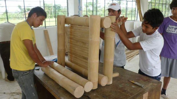 El bambú ha sido utilizado desde hace mucho tiempo para proteger las riberas de los ríos. (Foto: Unión Europea)