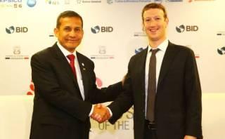 Este es el plan que Mark Zuckerberg y Ollanta Humala analizaron