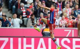 Bayern Múnich: Lewandowski marcó golazo de volea (VIDEO)