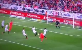 Lionel Messi marcó este golazo ante Sevilla por la Liga BBVA