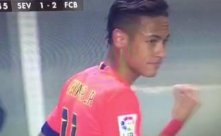 Barcelona: Neymar reaccionó con polémico gesto al ser cambiado