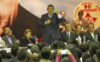 Alan García le exige al Apra la expulsión de Gerald Oropeza