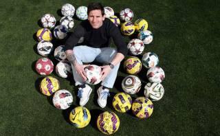 Lionel Messi conserva los balones de sus 32 'hat-tricks'