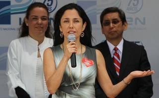 Nadine Heredia fue citada a declarar a Comisión Belaunde Lossio