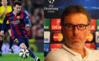 Barcelona vs. PSG: Laurent Blanc da fórmula para frenar a Messi
