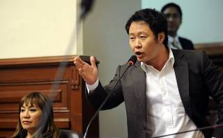 "Kenji Fujimori: ""Ollanta Humala se dispara a los pies"""