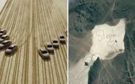 YouTube: ¿pueden once autos enviar mensaje al espacio? (VIDEO)