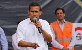 """Humala: """"Calificativos sobre oposición no afectan a Cateriano"""""""