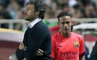 Neymar: ¿Qué dijo sobre su polémico gesto a Luis Enrique?