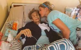 """Combate"": Alejandra Baigorria de luto por su abuelita"