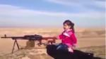 Estado Islámico: Niña kurda es entrenada para matar yihadistas - Noticias de niños orgullosos