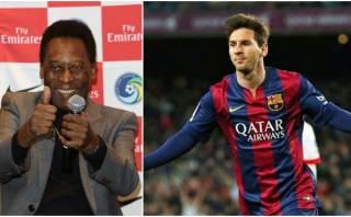 "Pelé: ""Entre Cristiano Ronaldo y Messi, me quedo con Messi"""