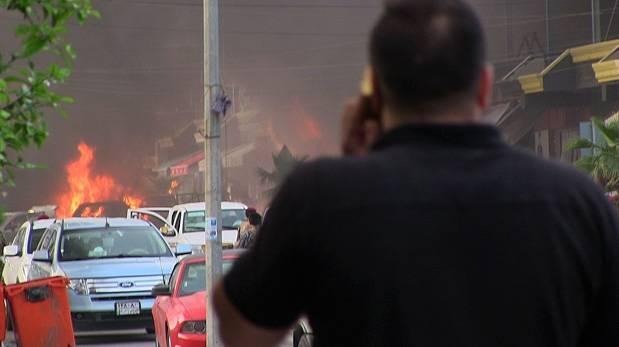 Iraq: 15 muertos y 62 heridos por explosión de 3 coches bomba