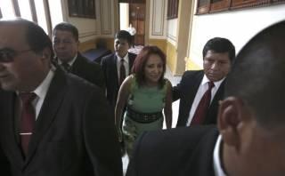 Prima de Nadine Heredia recibe inusual resguardo en el Congreso