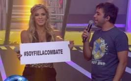 """""""Combate"""": Alejandra Baigorria volvió al 'reality show'"""