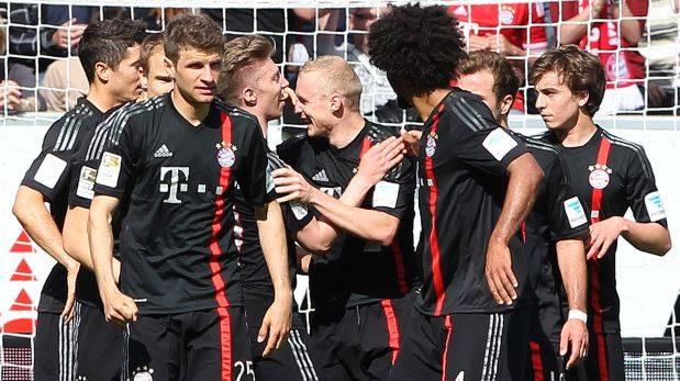 Bayern Múnich ganó y está a dos triunfos de ganar la Bundesliga