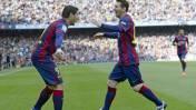 Barcelona derrotó 2-0 a Valencia con goles de Suárez y Messi