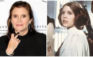 """Star Wars"": Carrie Fisher cuenta secretos de la princesa Leia"