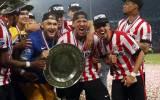 Eredivisie: PSV venció 4-1 y ganó el título en Holanda (VIDEO)