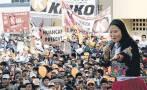 Fujimoristas viajaron a mitin con pasajes pagados por Congreso